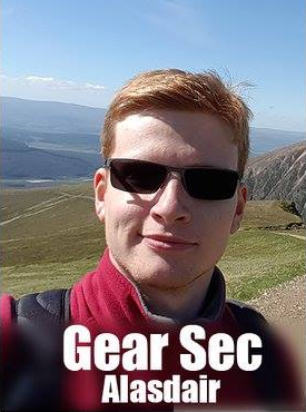 Gear Secretary Alasdair